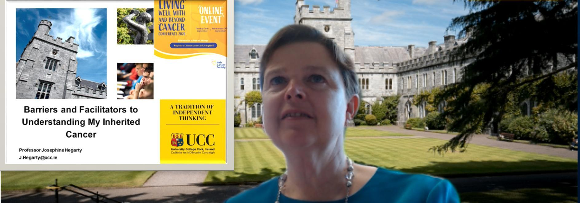 Professor Hegarty presents at the Irish Cancer Society Annual National Conference