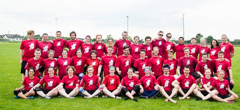 Congrats to Andrew Moore and the other members of the Rebel 1 Ultimate Frisbee team on their success at the All Ireland Ultimate Championships 2018