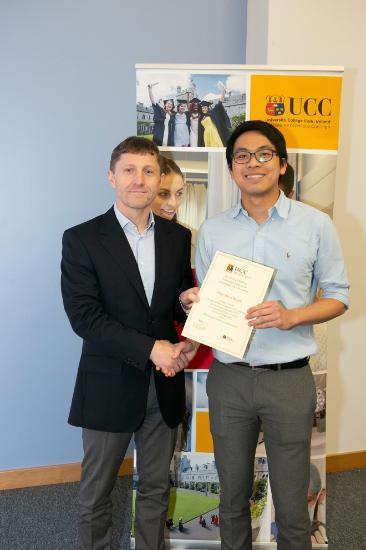 Congratulations to Wen Wei Chionh for winning the 2017/2018 British Pharmacological Society Prize