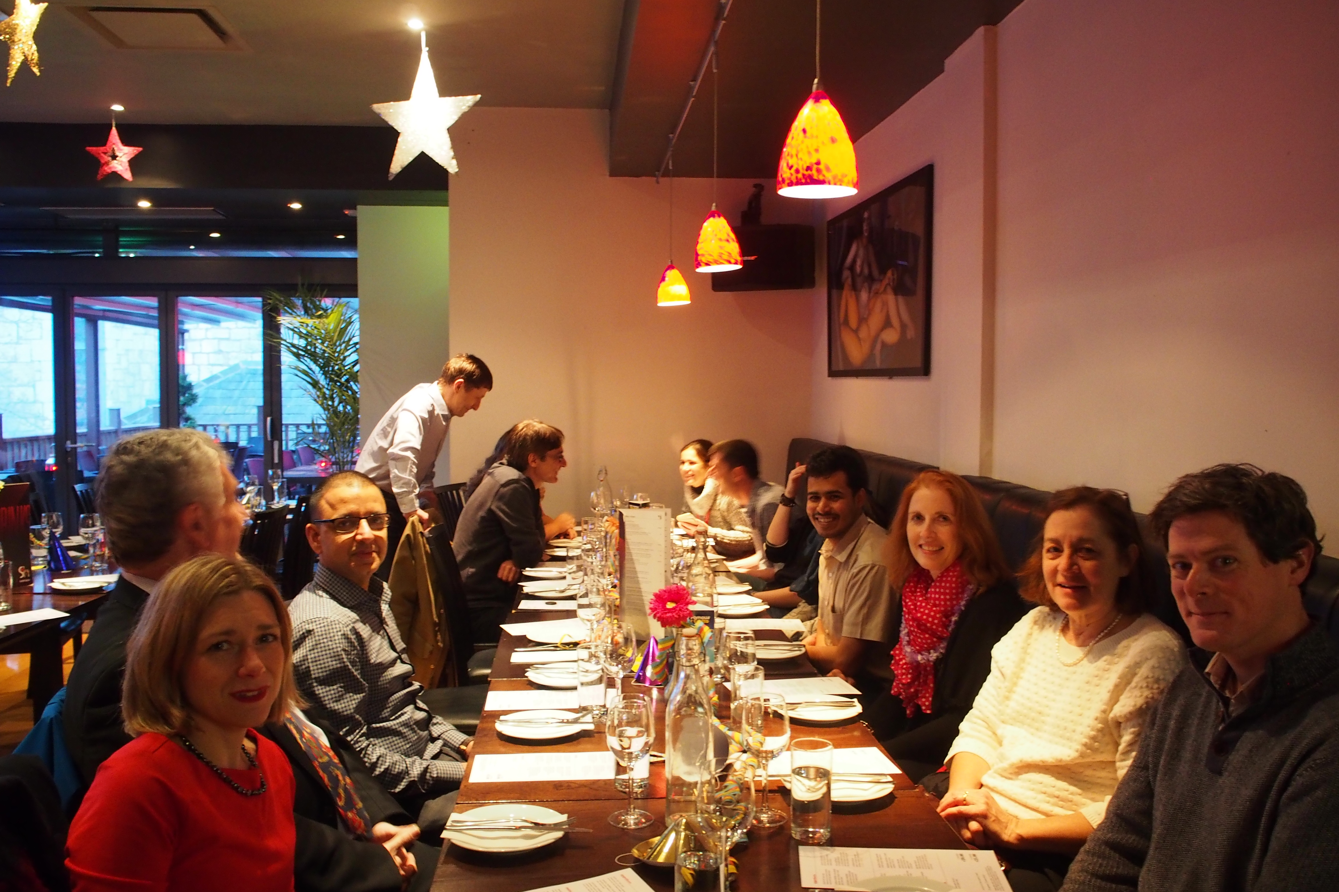 Christmas Lunch at SoHo
