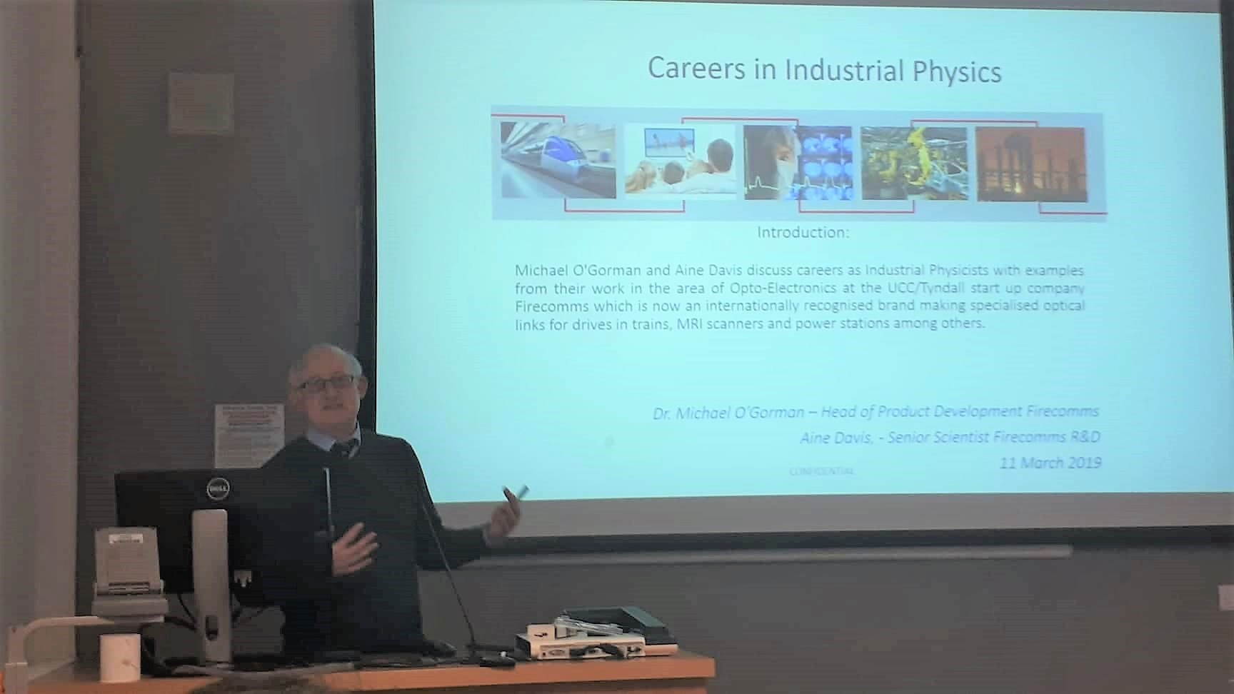 'Careers in Industrial Physics' Seminar Highlights