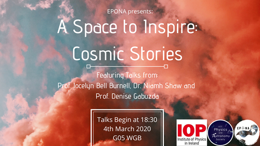 EPONA presents: A Space to Inspire: Cosmic Stories