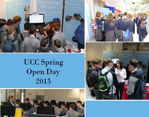 UCC Spring Open Day 2015