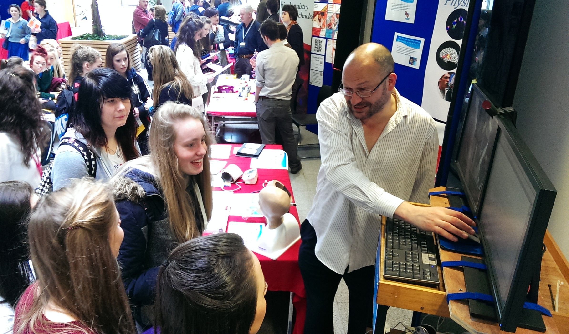 Physiology Degree showcased at Spring Open Day