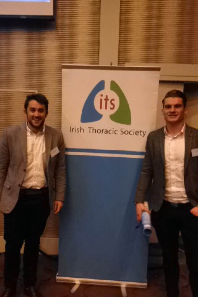 PhD trainees present at the Irish Thoracic Society Scientific Meeting