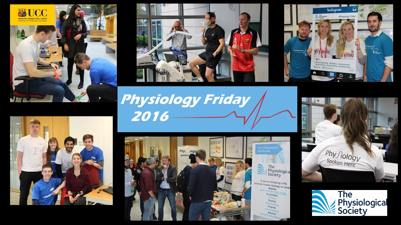 Physiology Friday, UCC, 2016