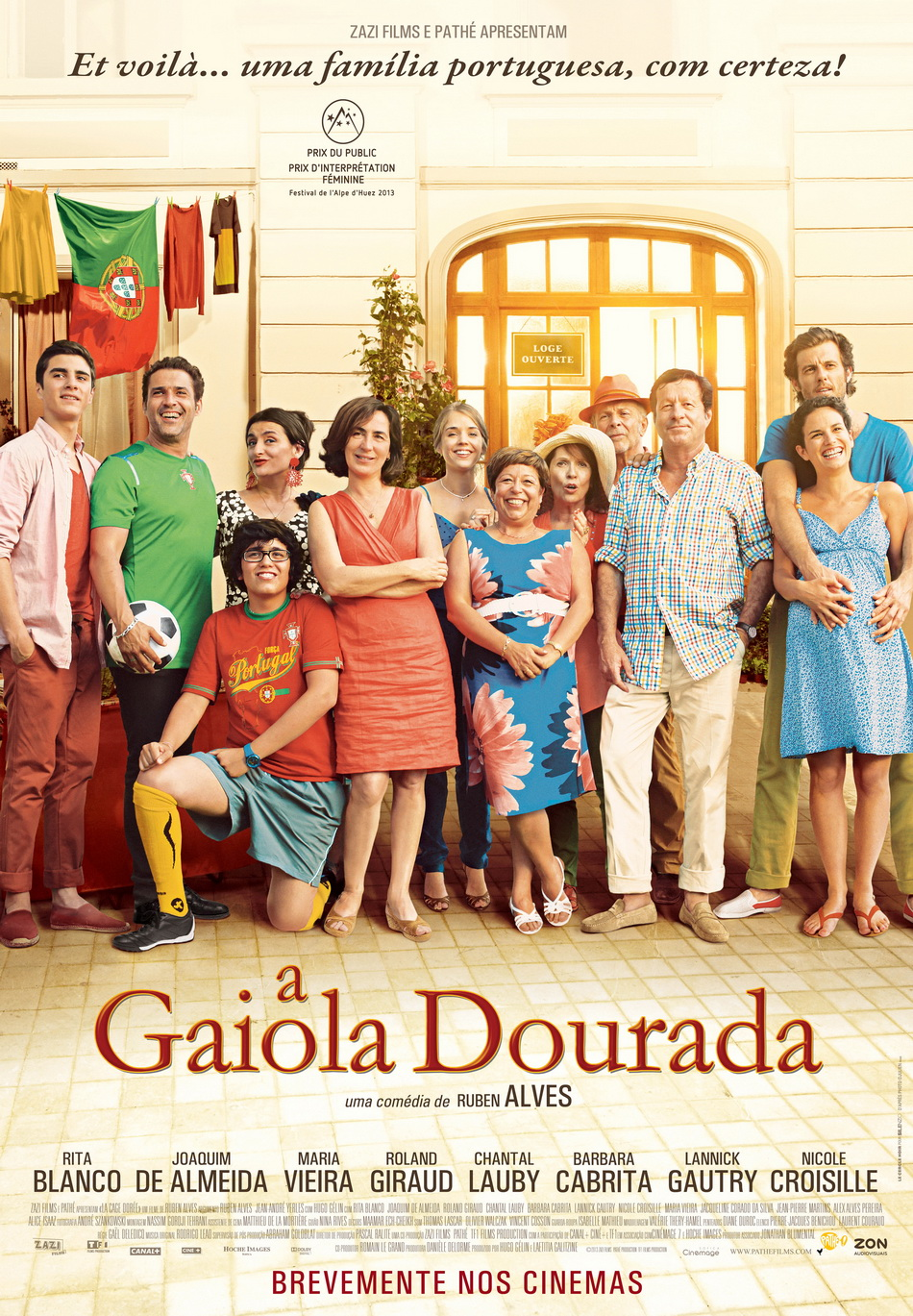 4th Film in Portuguese Cinema Cycle - A gaiola dourada