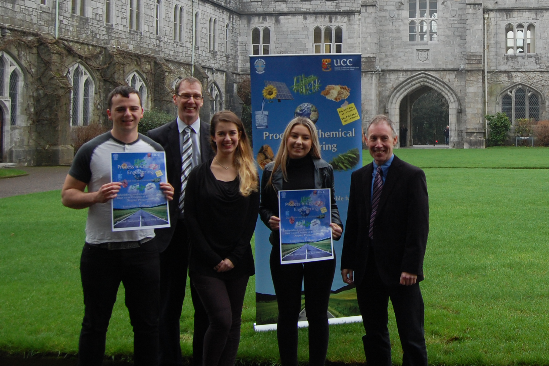 International recognition for UCC's Process & Chemical Engineering programme: Winner of the IChemE Sustainability Teaching Award 2016