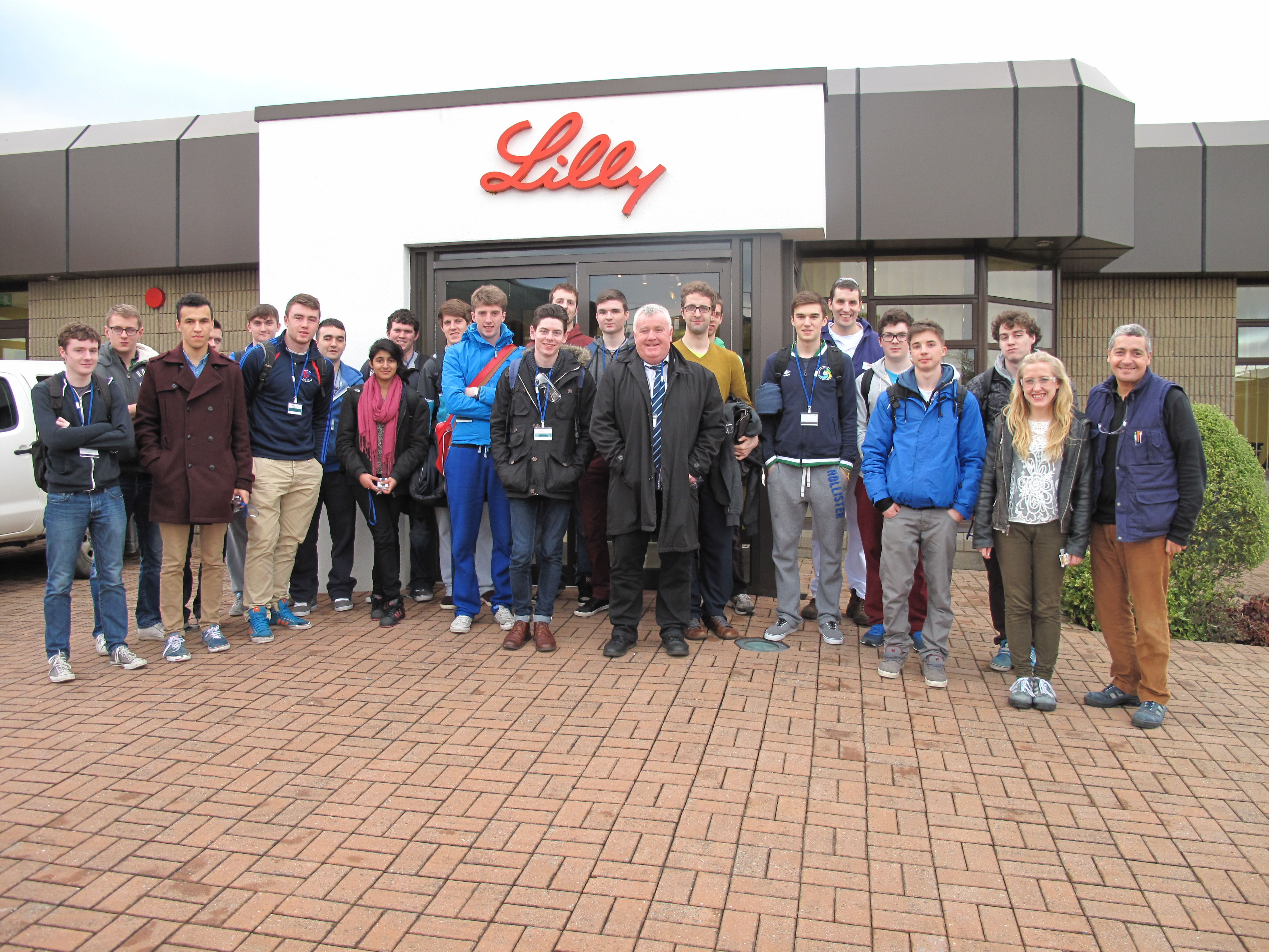1st Year Engineering Students visit Eli Lilly