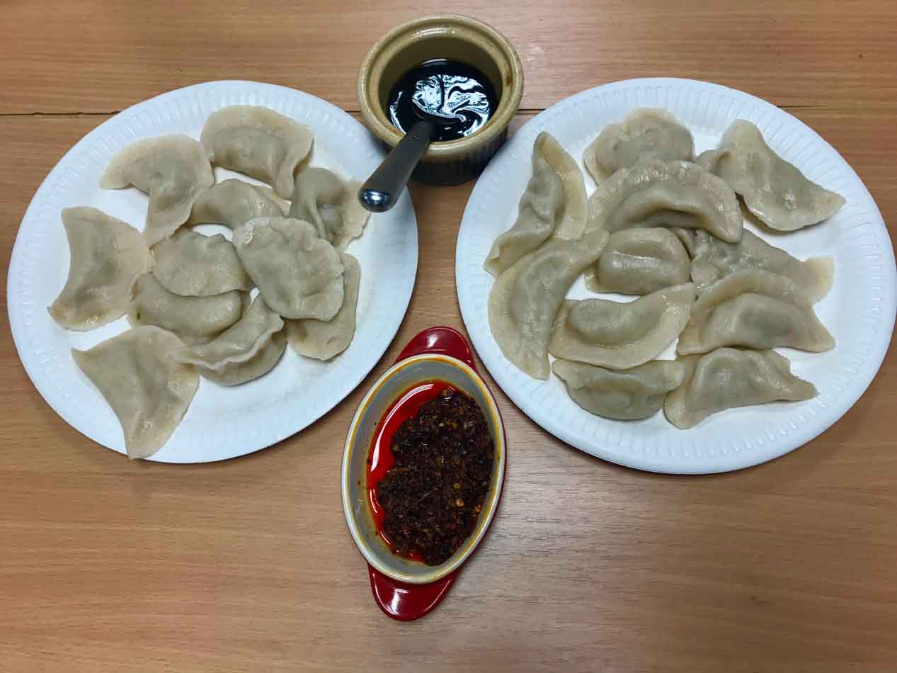 UCC Dumpling Cooking Cultural Activity