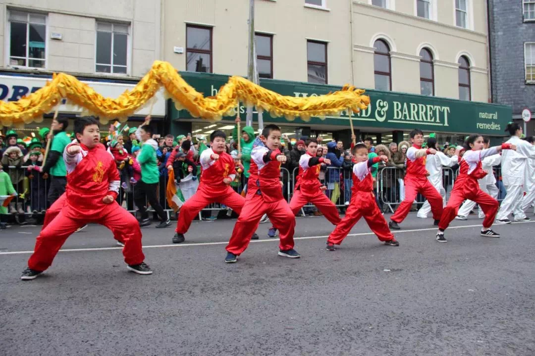 UCC Confucius Institute Teachers participate in St. Patricks day parade