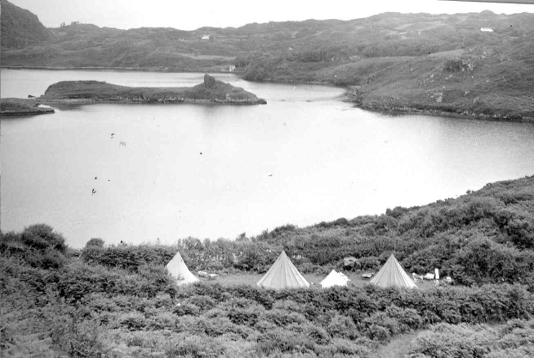 Lough Hyne Camp c. 1950