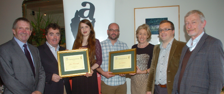 MSc Organic Horticulture Students Collect Belling Bursaries