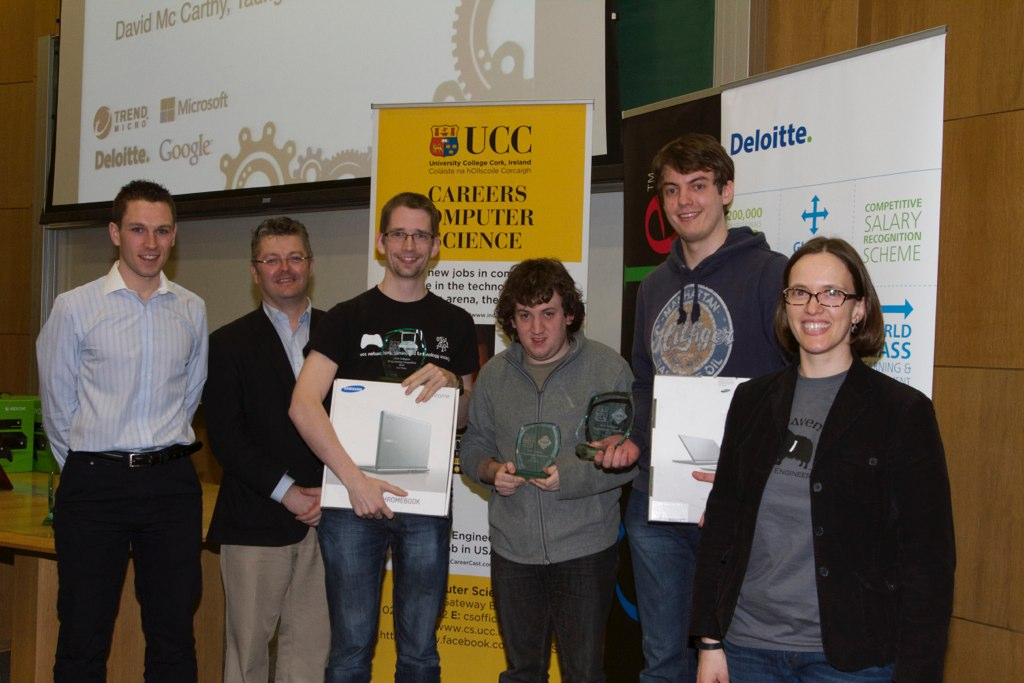 An EEE Team coached by Dr. Emanuel Popovici wins 2nd prize in the ACM Irish Collegiate Programming Competition 2014