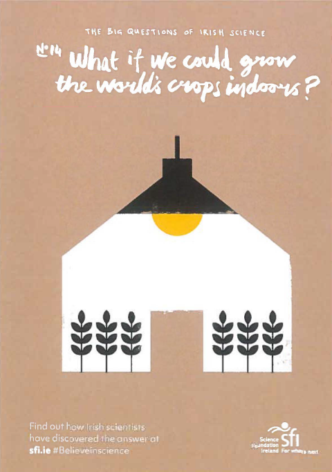 WHAT IF WE COULD GROW ALL OF THE WORLDS CROPS INDOORS?