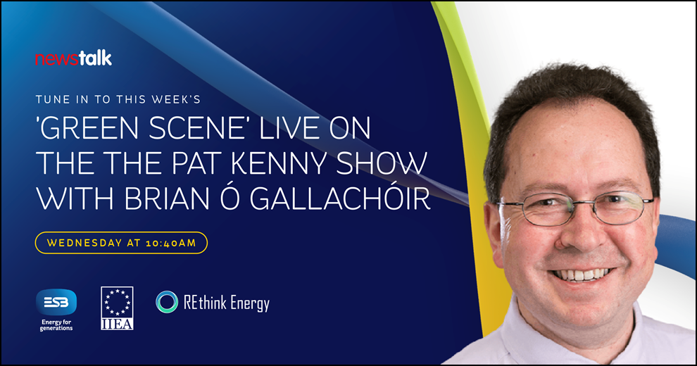 'Green Scene' Live on the Pat Kenny Show with Brian O Gallachóir