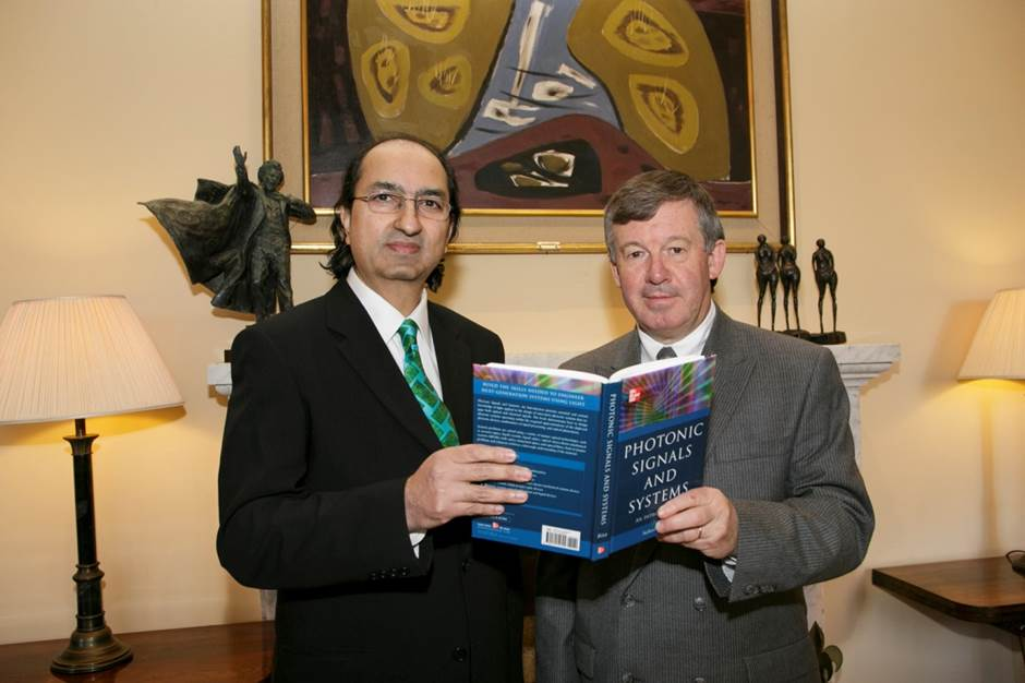 UCC President Marks the Occasion of the Publication of a New Text Book from the School of Engineering