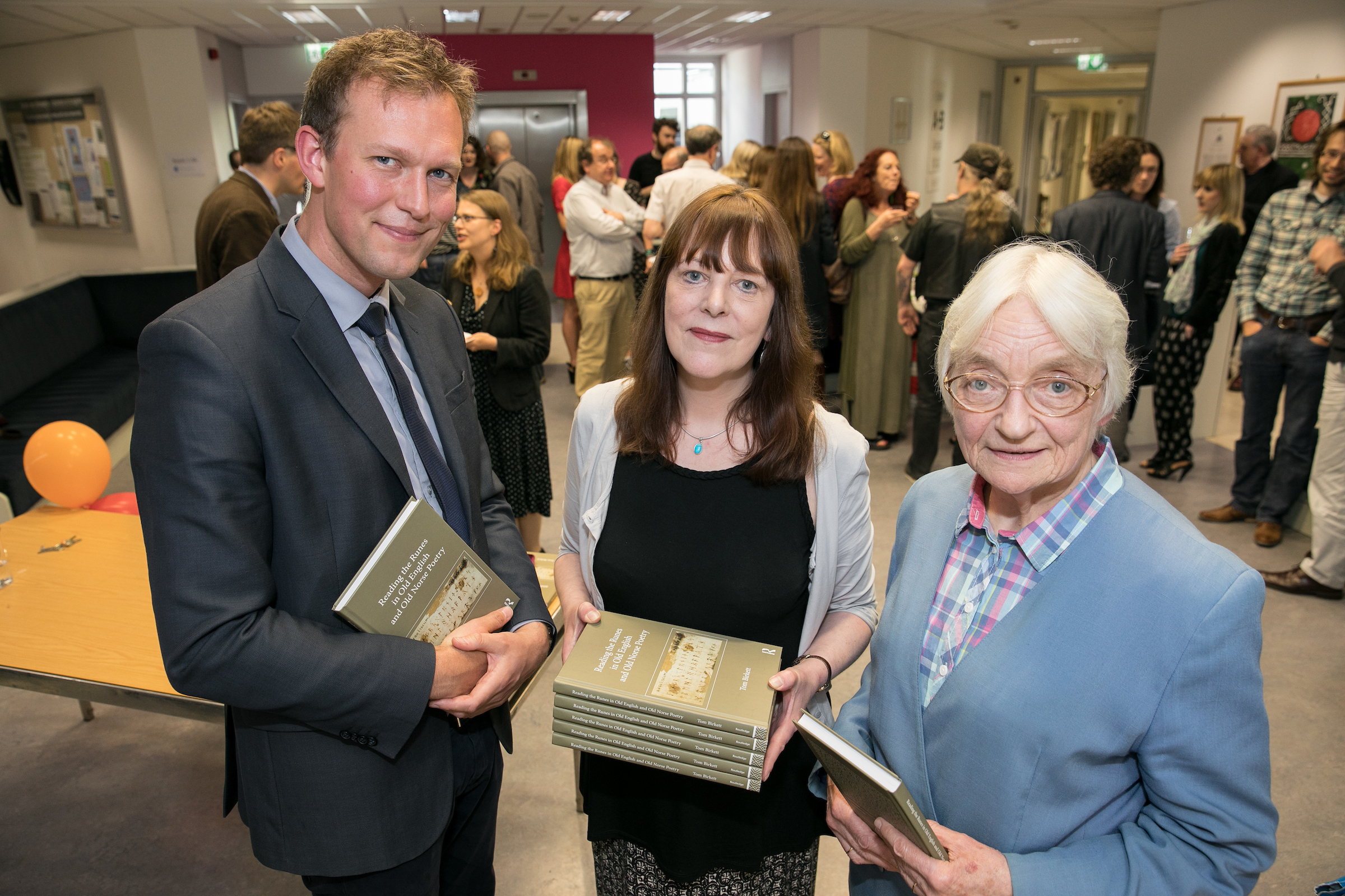 School launches 'Reading the Runes' by Dr Tom Birkett