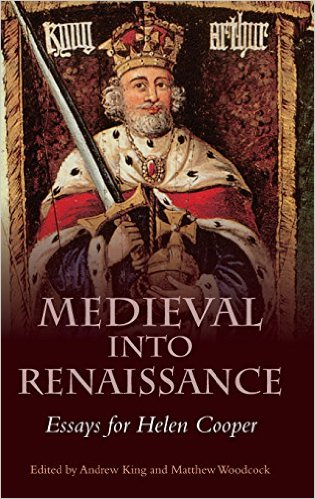 Andrew King and Matthew Woodcock, eds., Medieval into Renaissance: Essays for Helen Cooper (D.S. Brewer, 2016).