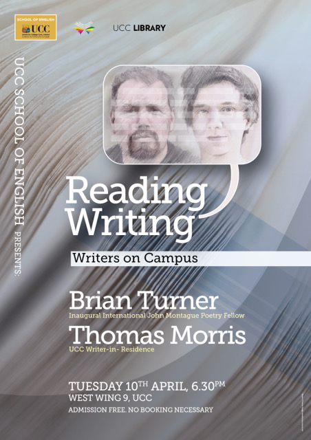 Reading from John Montague International Poetry Fellow, Brian Turner, and UCC Writer-in-Residence, Thomas Morris
