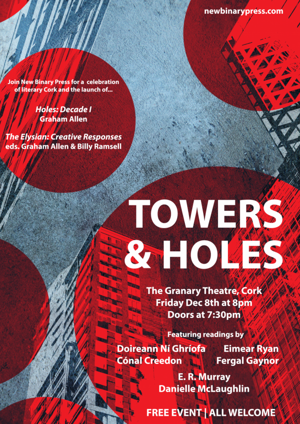 Launch of 'The Elysian: Creative Responses' and Graham Allen's 'Holes Decade 1'