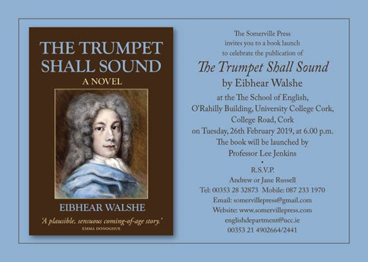 Congratulations to Dr Eibhear Walshe, on the launch of 'The Trumpet Shall Sound'