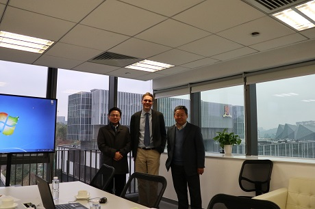 Dr Adam Hanna recently visited three universities in China