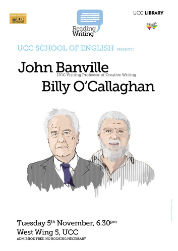 Banville and O'Callaghan Readings Available to View Online