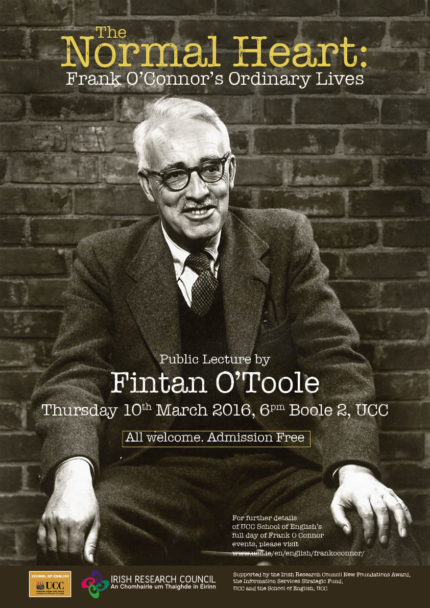 School event to mark the anniversary of the death of Frank O'Connor