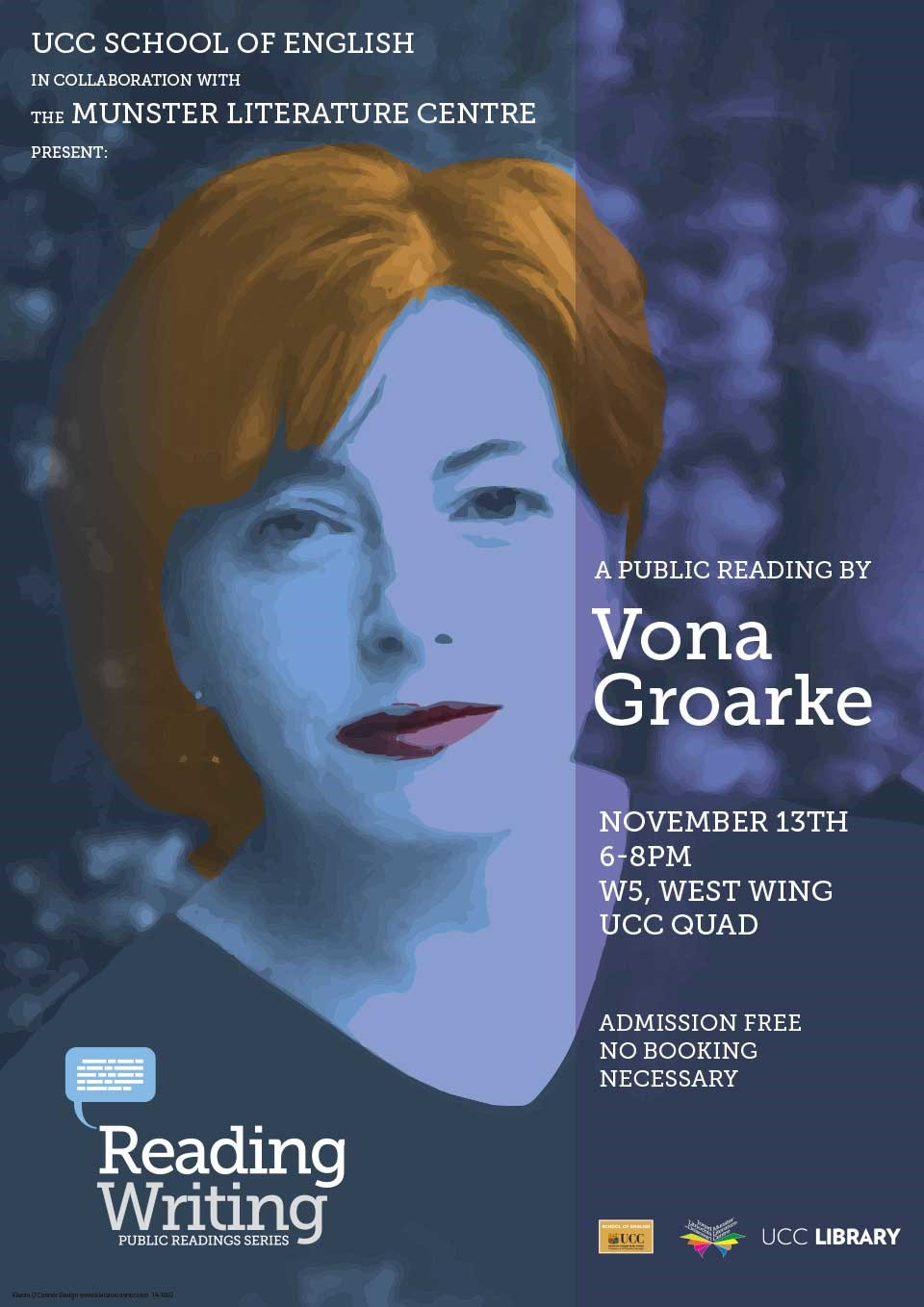 Vona Groarke: Public Reading