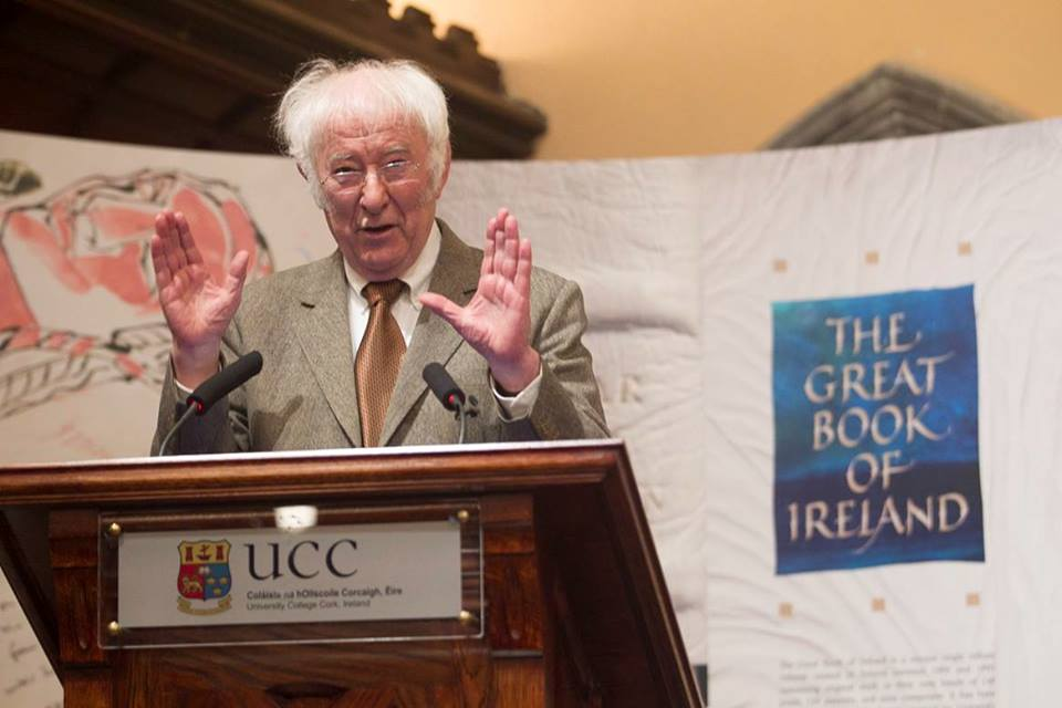 Seamus Heaney Memorial Event