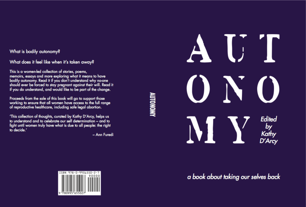 Launch of Autonomy, Edited by Kathy D'Arcy