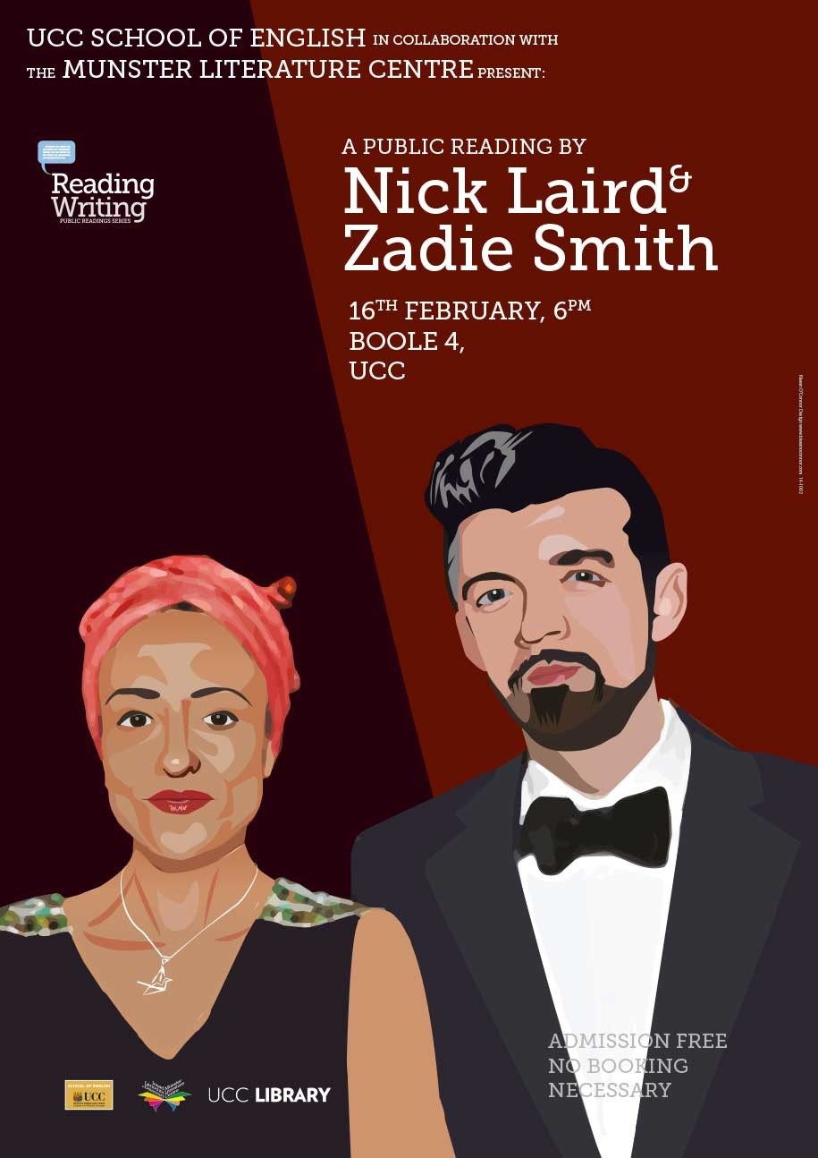 Zadie Smith and Nick Laird to read in UCC
