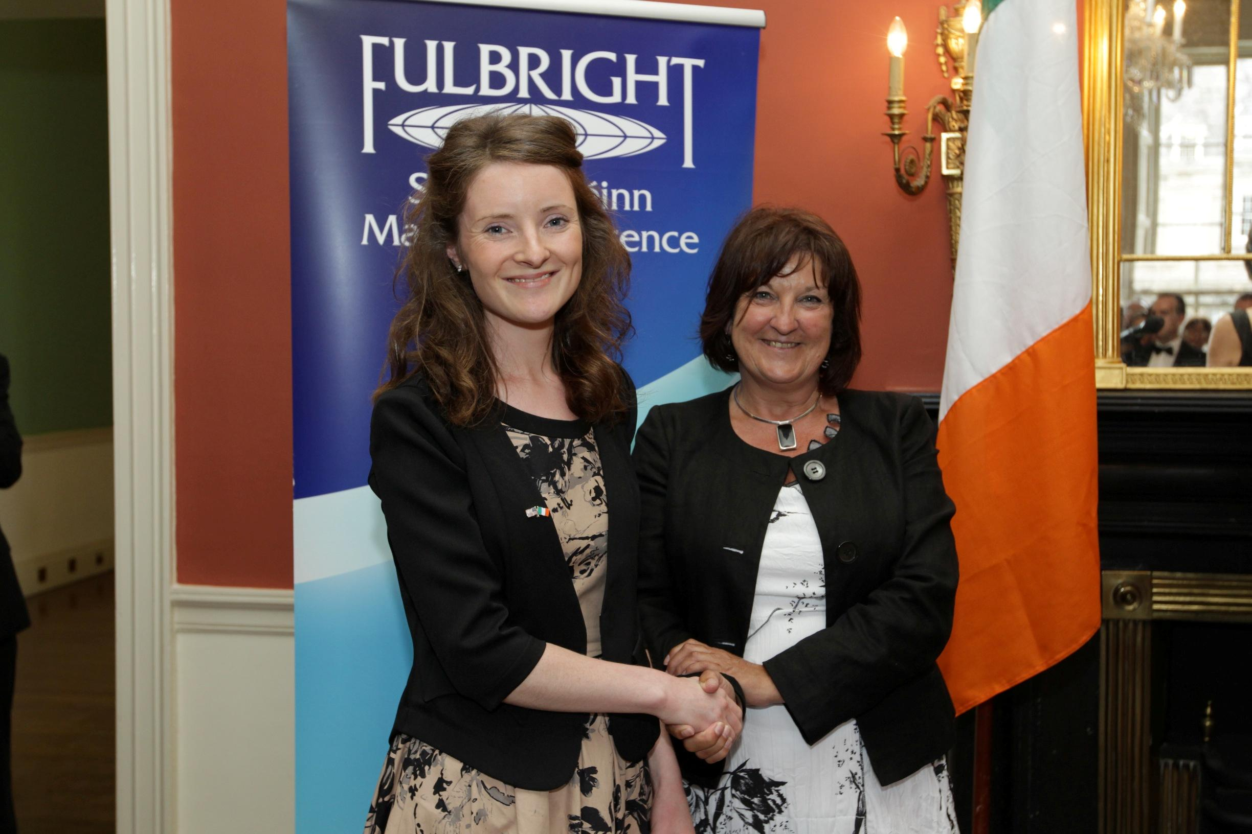 Fulbright Scholar Niamh O'Mahony returns to Cork