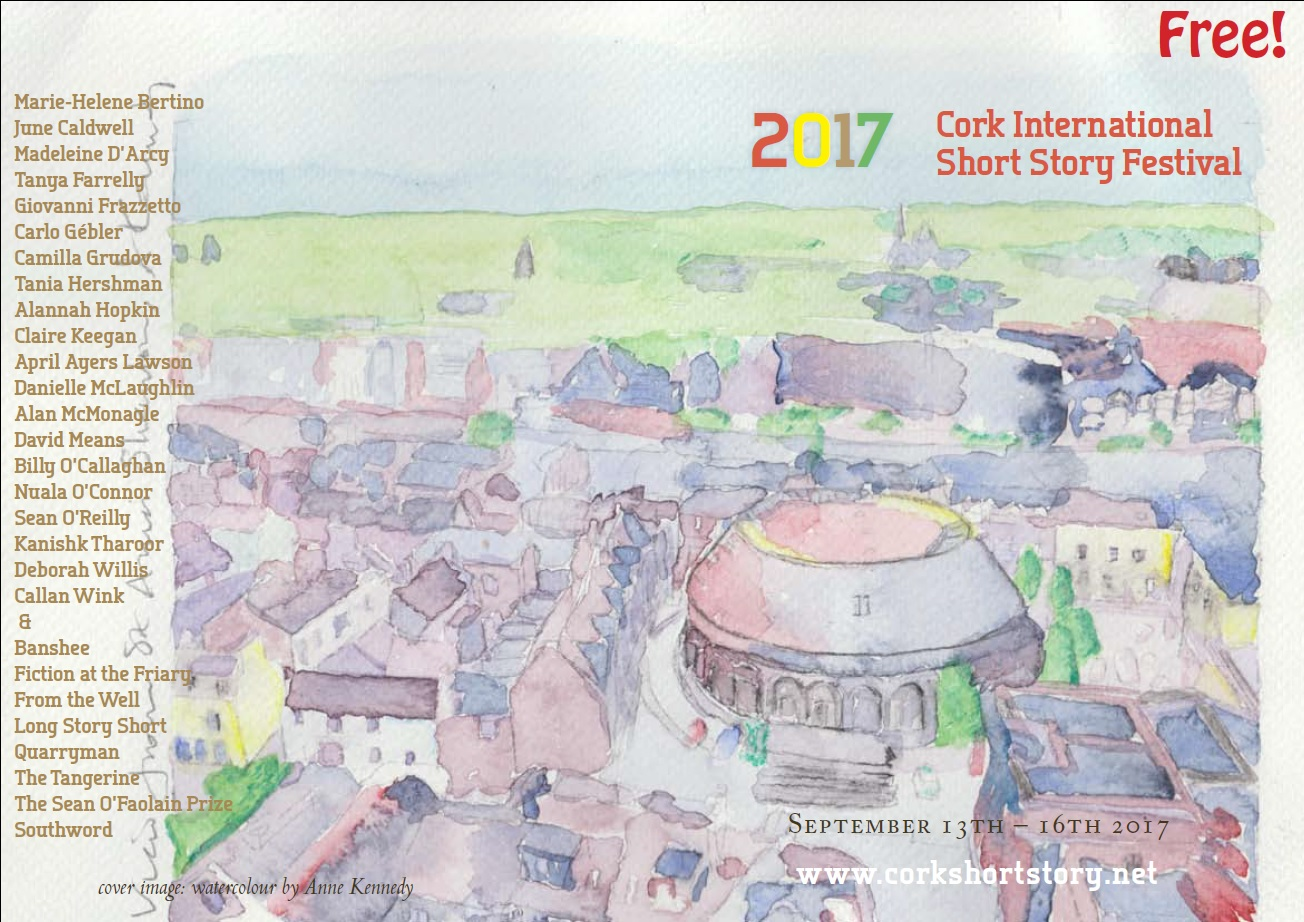 Fantastic Line-Up for the Cork International Short Story Festival 2017