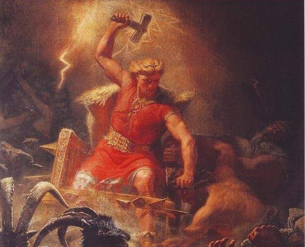 The School's Dr Tom Birkett talks about the Norse gods on Newstalk's 'Talking History'
