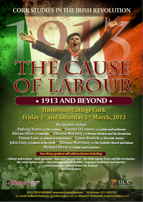 The Cause of Labour Conference Poster