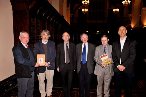Presented by the UCC Humanities Platform (PRTLI4), two new history books by John Barry and Hiram Morgan, Andy Bielenberg and Raymond Ryan were launched on Monday 18 February in the Aula Maxima, University College Cork.
