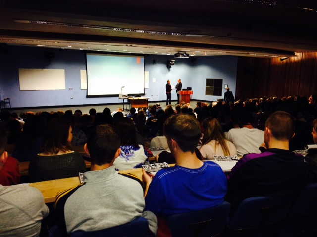Welcoming new students: a full house for First Year History at UCC