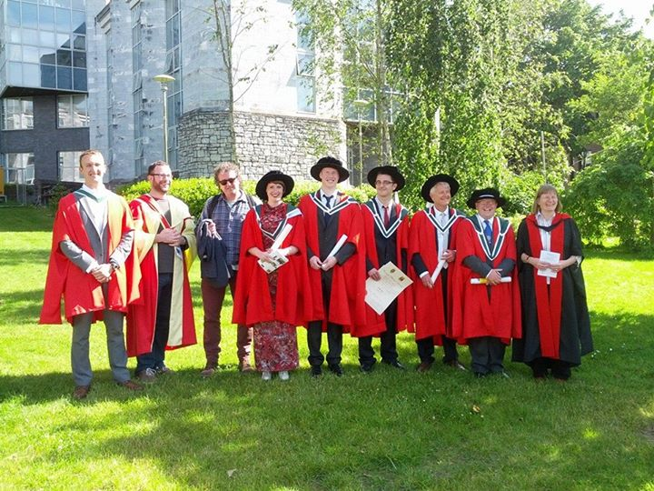 Six doctoral candidates graduate in History