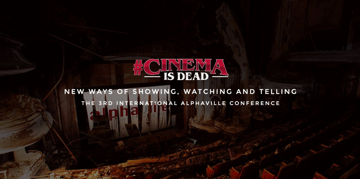 Film and Screen Media's Third Alphaville International Conference