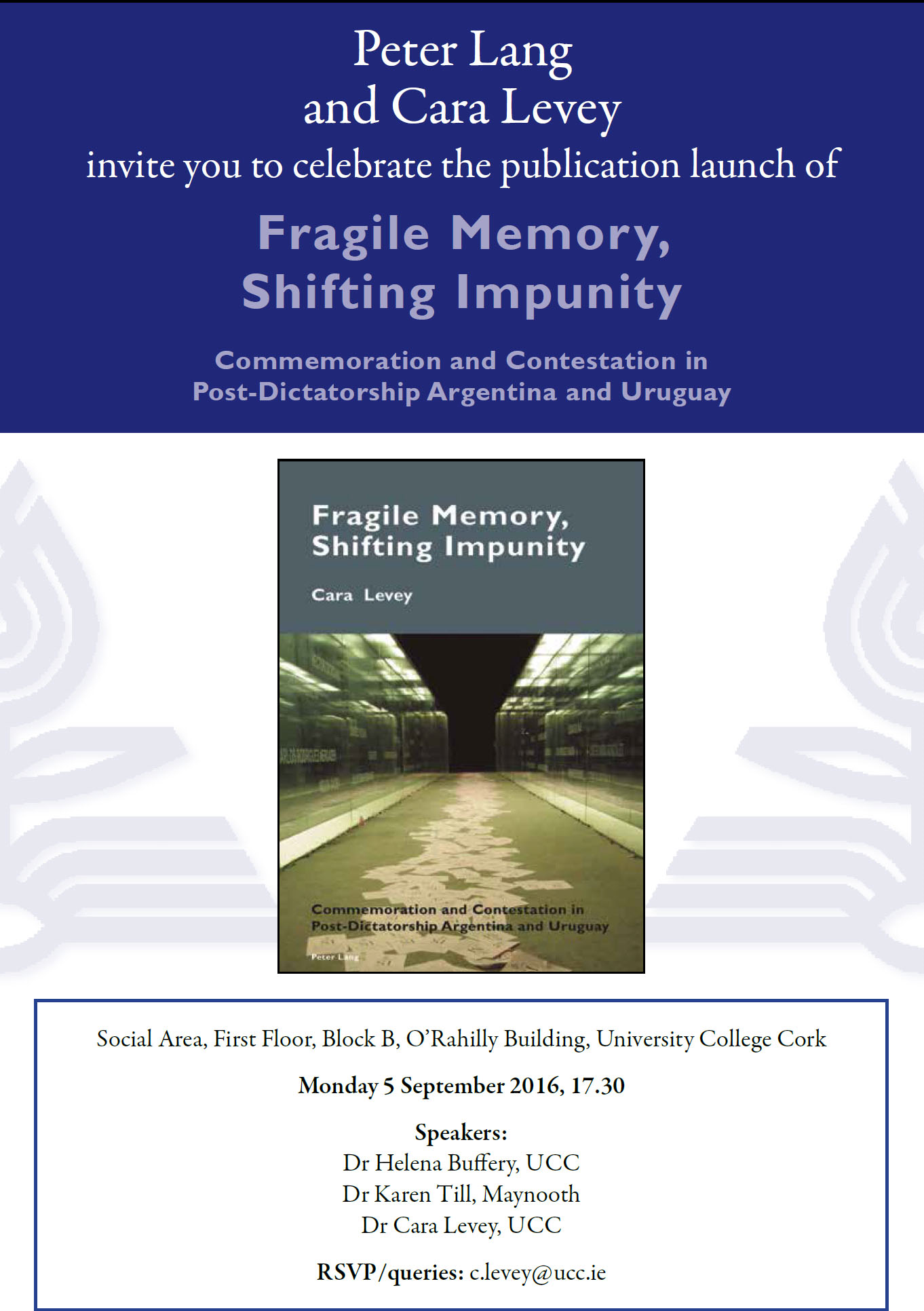 New Approaches to Memory Workshop and Book Launch