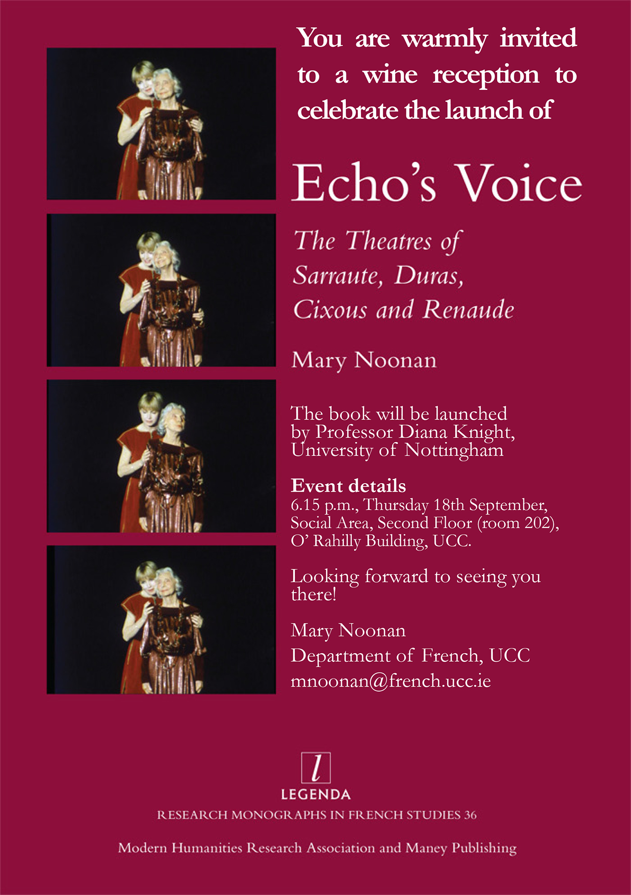 Echo's Voice Book Launch