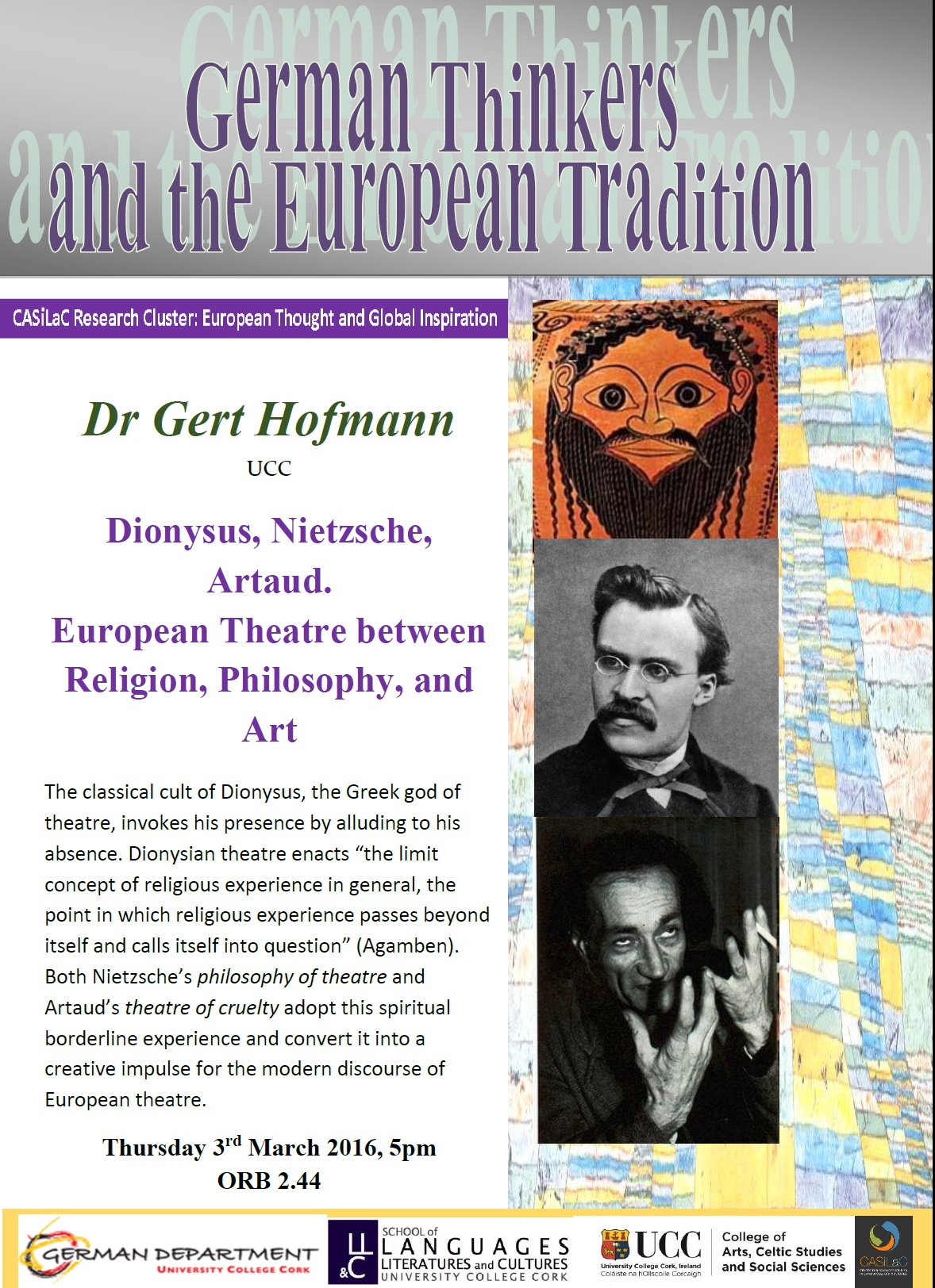 German Thinkers and the European Tradition