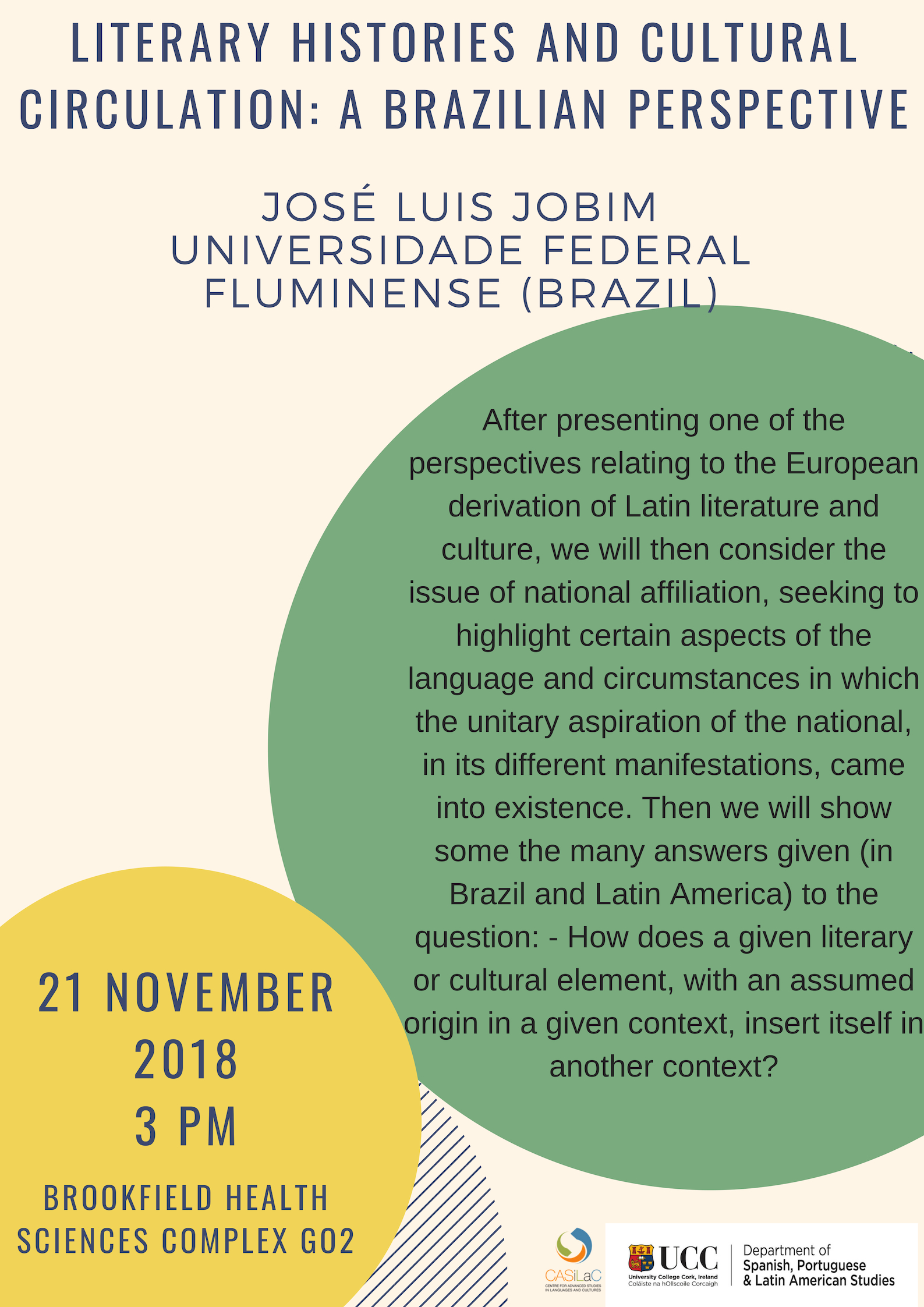 Literary Histories and Cultural Circulation: A Brazilian Perspective