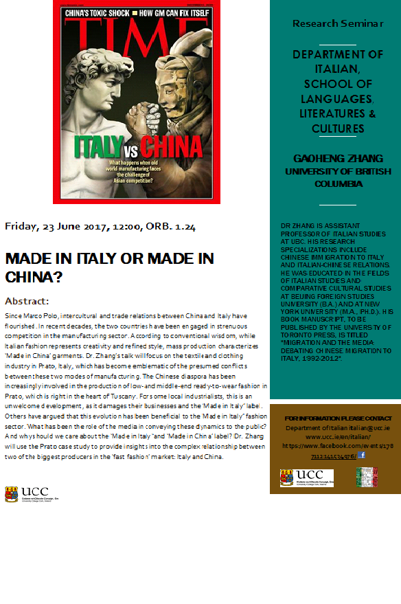 Made in Italy or Made in China?
