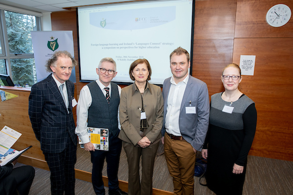 Joint NUI-UCC event: 'Foreign language learning and Ireland's 'Languages Connect' Strategy: A symposium on perspectives for higher education' (30 November 2018)