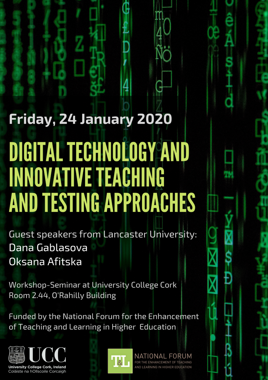 Digital Technology and Innovative Teaching and Testing Approaches