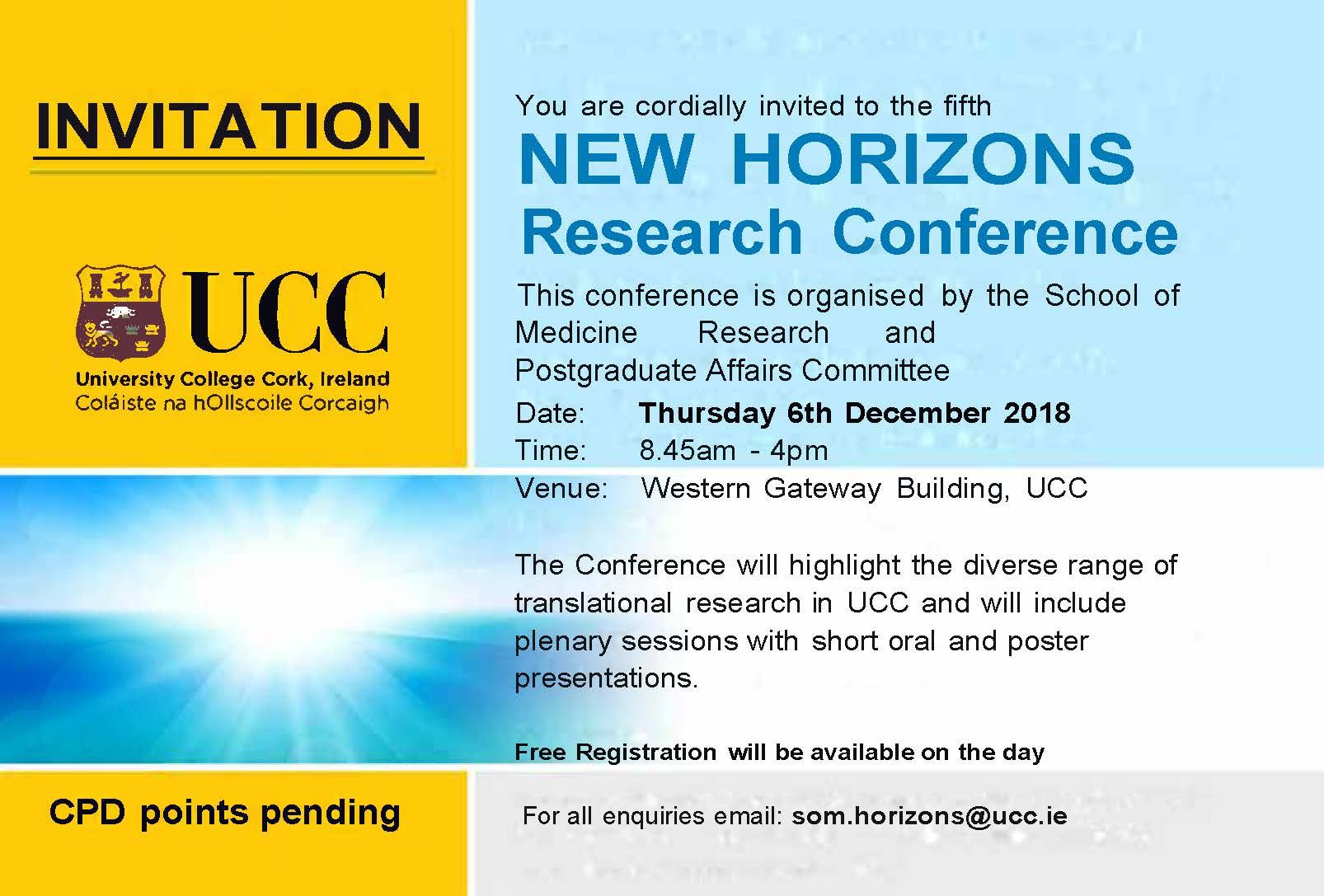 New Horizons Research Conference 2018