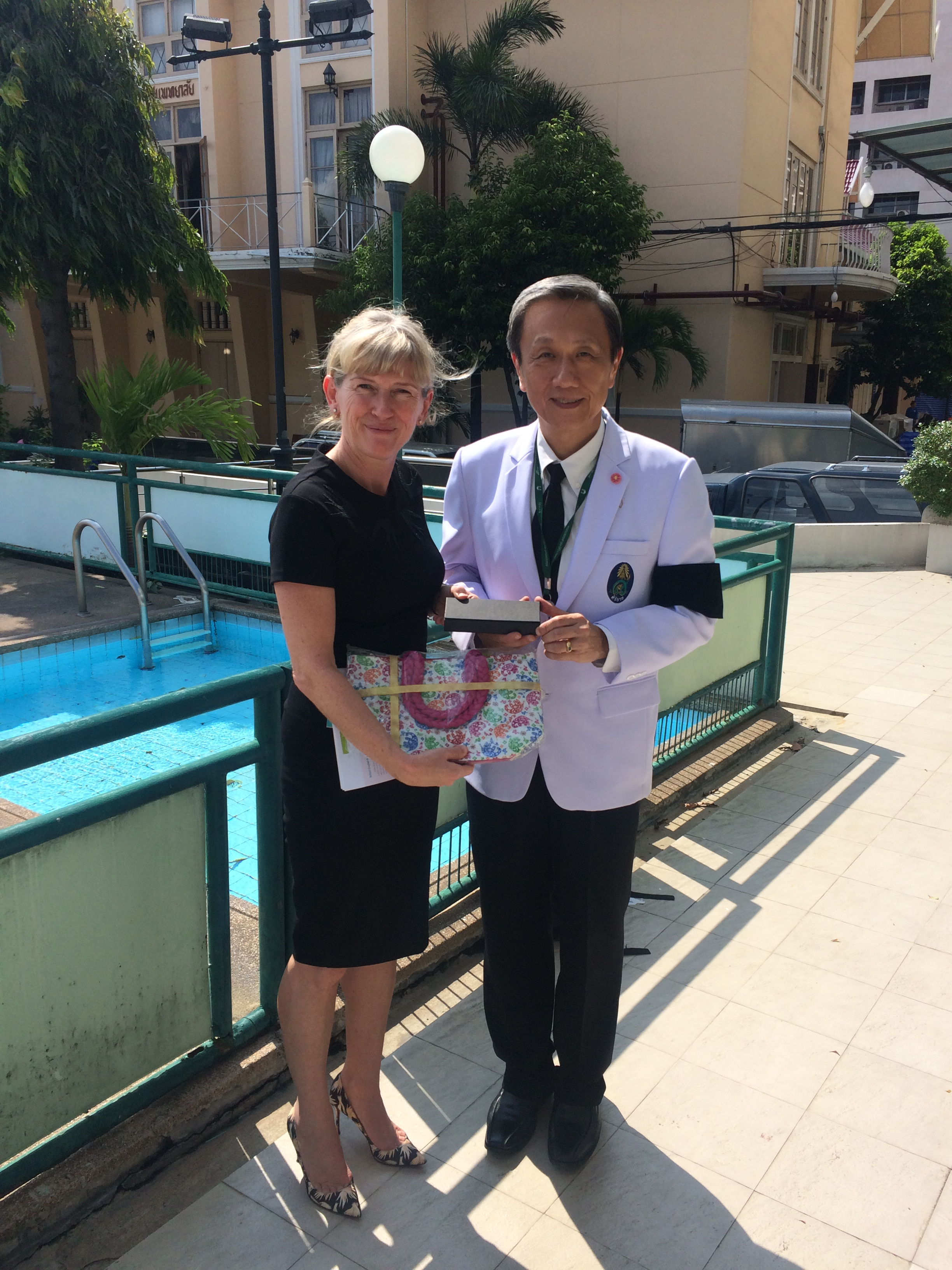 Professor Mary Horgan visits Thailand
